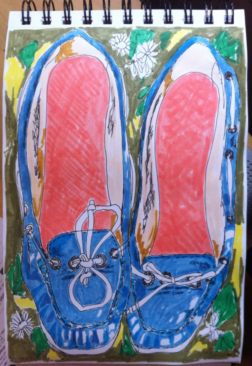 Sketchbook shoes May14