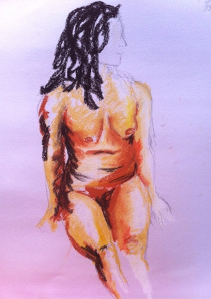 Summer life drawing 1