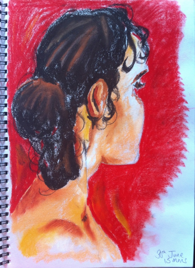 Summer life drawing 2