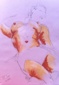 Summer life drawing 5