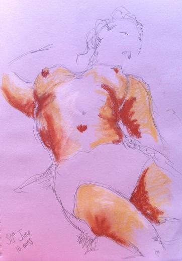 Summer life drawing 5
