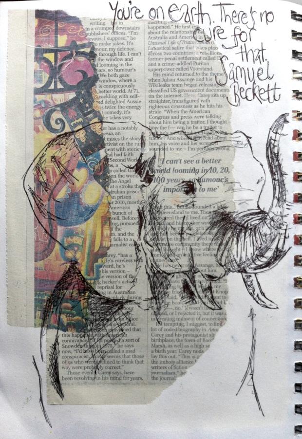 elephant newspaper